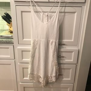 Free People lace slip dress